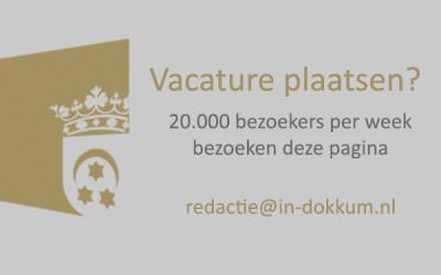 Vacature plaatsen in Dokkum?