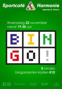 Bingo @ Sportcafé Harmonie