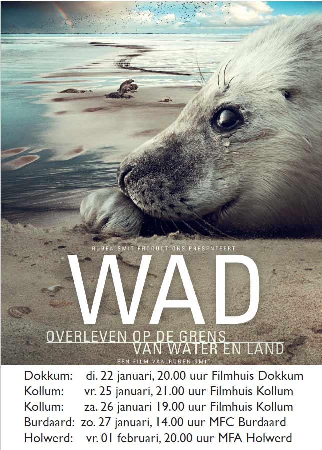 Filmvertoning: WAD. Overleven op de grens van water en land.