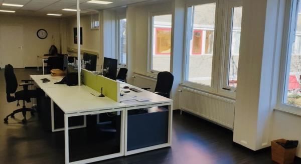 Gezonde kantoorruimte