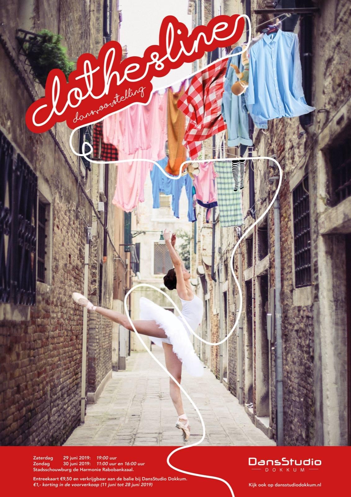 Dansvoorstelling Clothesline
