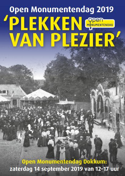 Open Monumentendag Dokkum 2019: 'Kermis en Kroegen op de Markt' @ De Markt