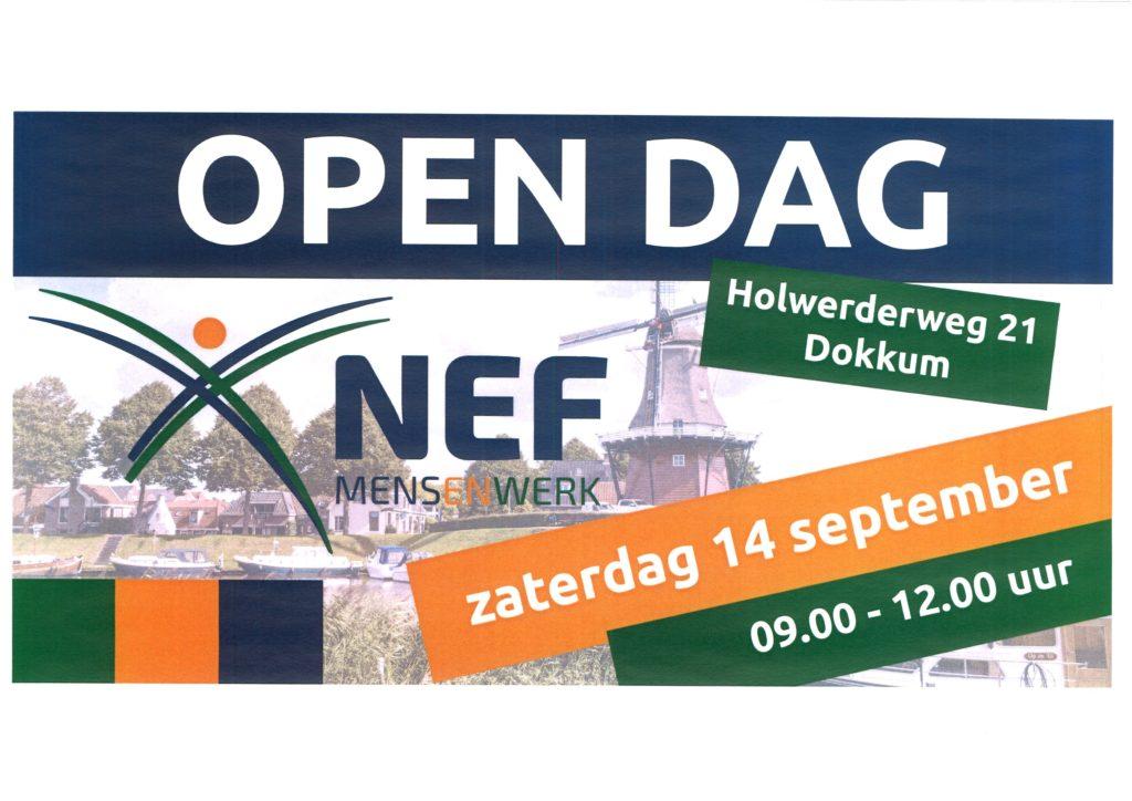Open Dag werk-/leerbedrijf NEF @ Werk-/ leerbedrijf NEF