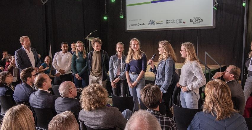 Dokkumer leerlingen vooraan bij Klimaattop - In-Dokkum.nl - In-Dokkum.nl