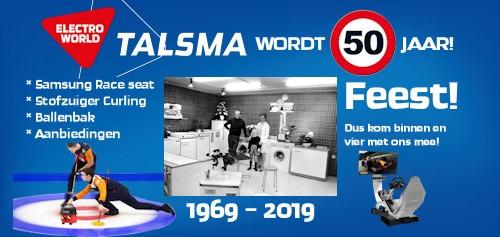 Jubileum feest Electro World Talsma wordt 50 jaar! @ Electro World (Talsma Dokkum)