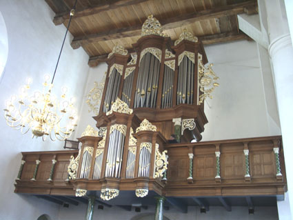 Orgel Grote – of Martinuskerk Dokkum