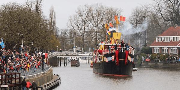 Sinterklaasintocht @ De Zijl en binnenstad