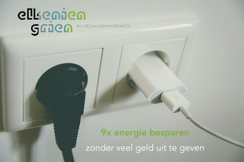 tips voor energiebesparing