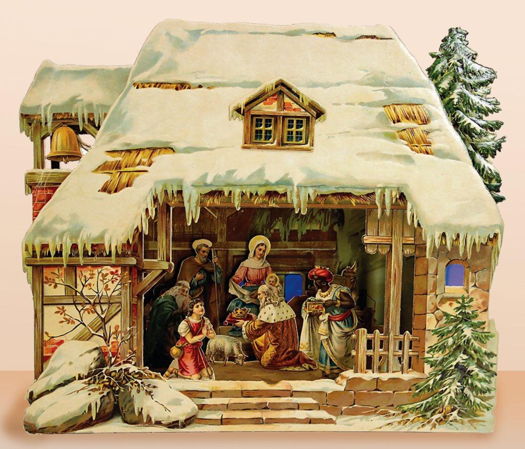 Kartonnen Kerststallen @ Museum